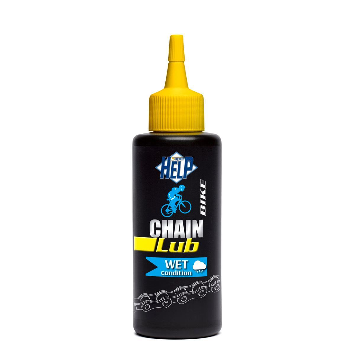 CHAIN LUB WET CONDITION